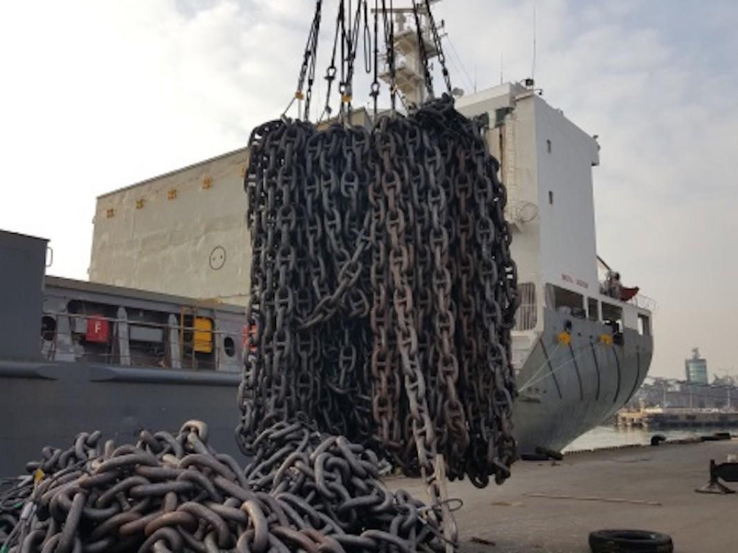 Anchoring an oil rig?