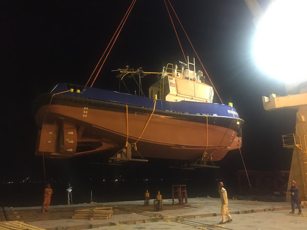 Working Boats for the Middle East