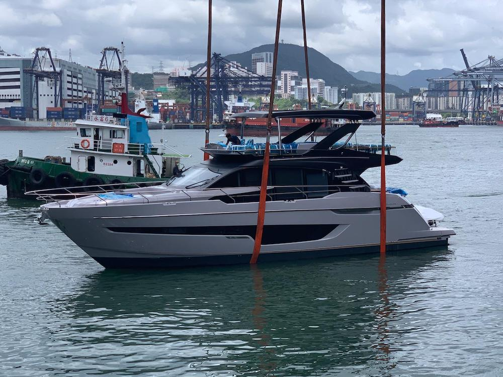 A beauty for Hong Kong waters!