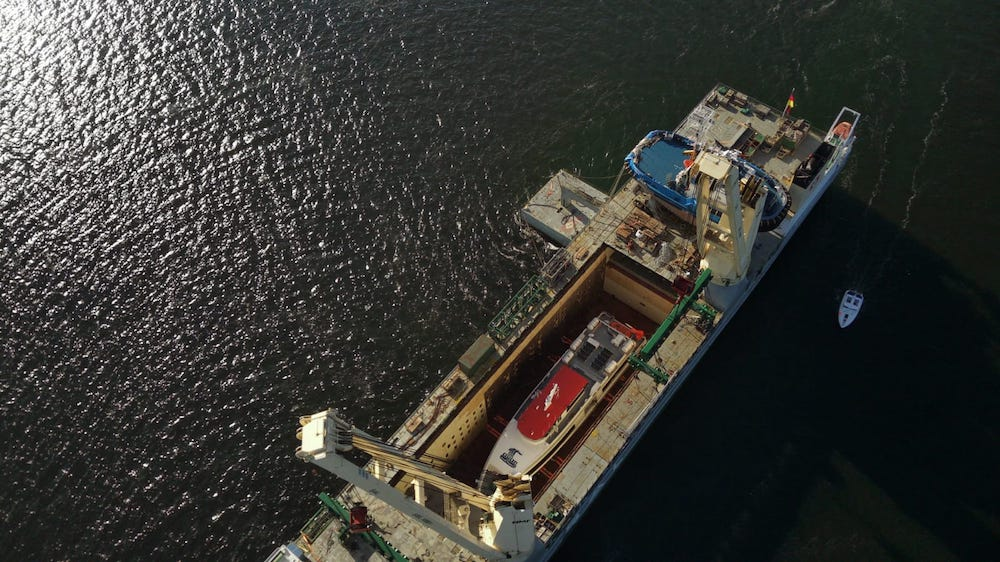 Central Oceans shipment makes the News!